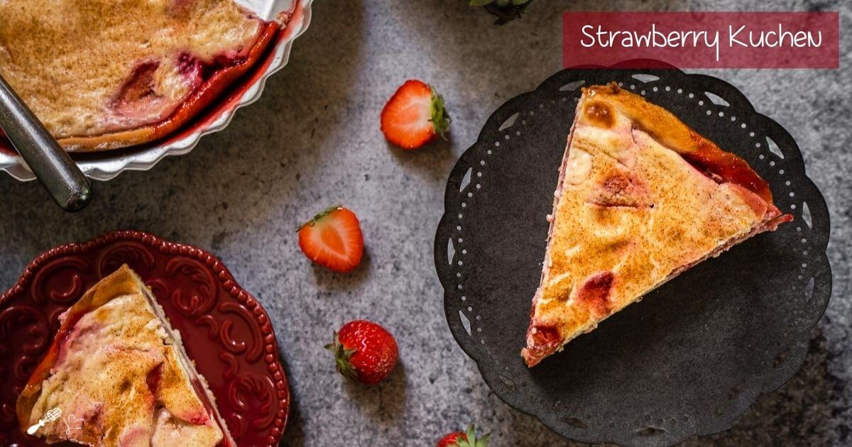 Strawberry Kuchen In Post SM & Feature Image